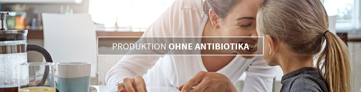 Produktion ohne antibiotika